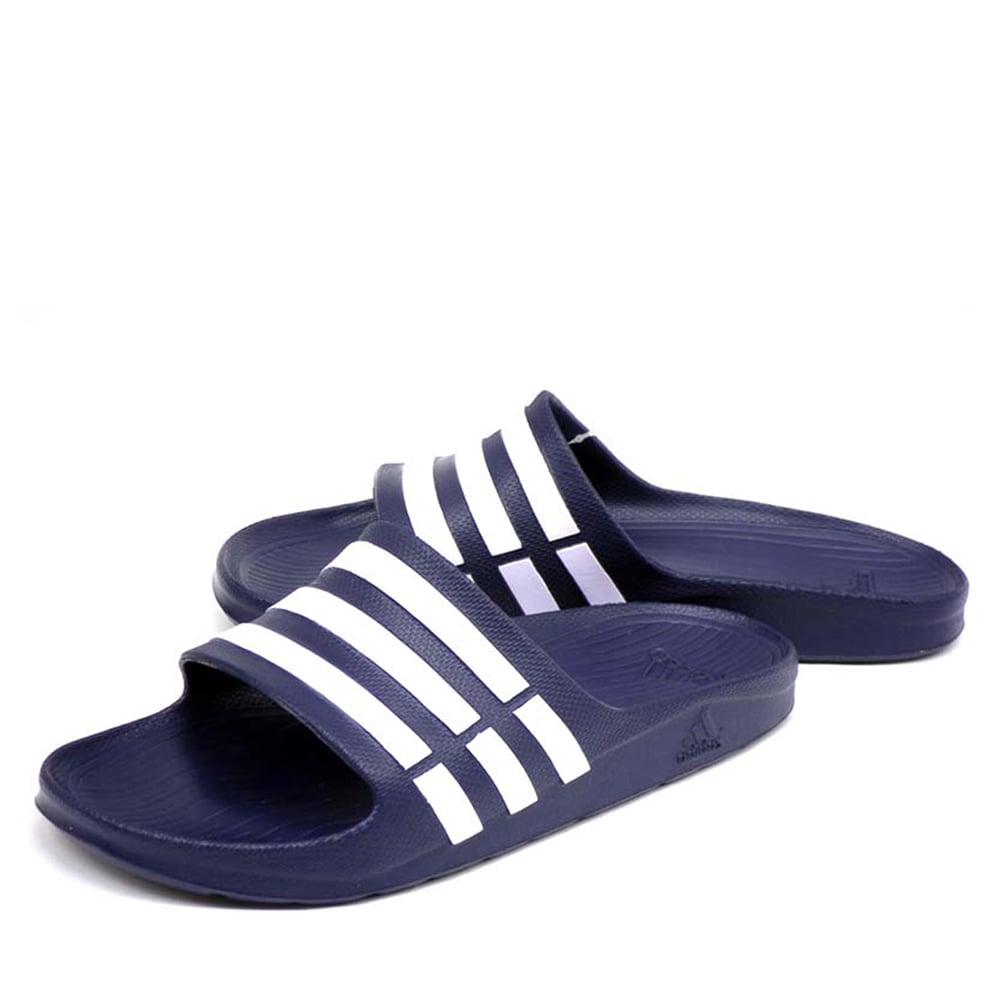 Ciabatte Adidas Duramo Slide Blu Uomo