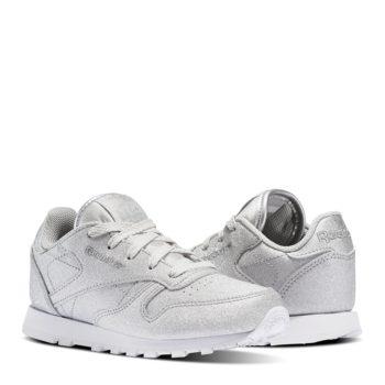 Sneakers Reebok Cl Syn Grigie Bambina