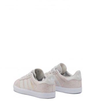 Sneakers Adidas Gazelle C Grigie Bambina