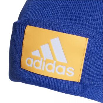 Berretto Adidas Logo Woolie Blu Bambino
