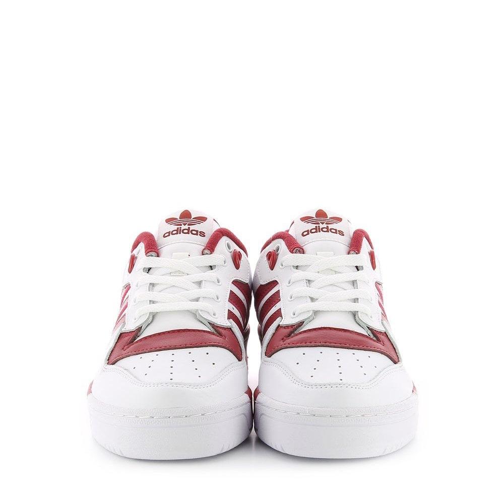 adidas advantage clean rosse