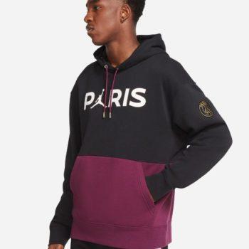 Nike Jordan Psg Felpa pullover in fleece