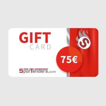 Gift card €75,00
