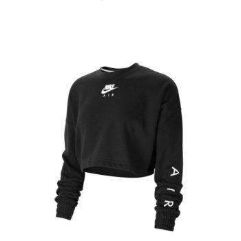 Nike maglia a girocollo corta in fleece-CU6584-010