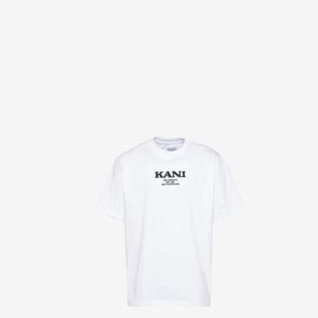kkmq12105wht-retro t-shirt -karl kani