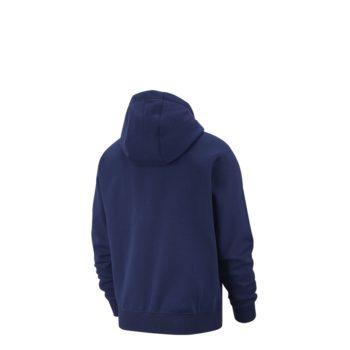 Nike Club Fleece Felpa con cappuccio e Zip Uomo blu