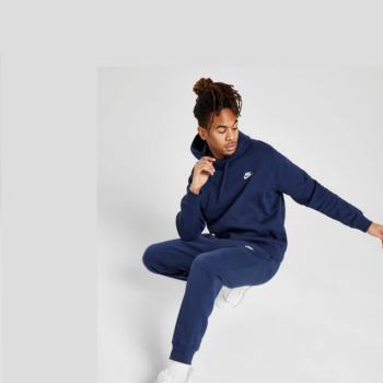 Nike Jogger Club Fleece Pantaloni Uomo Blu